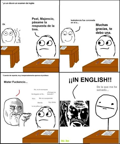 Cuánto cabrón / Profesores de inglés y su manía