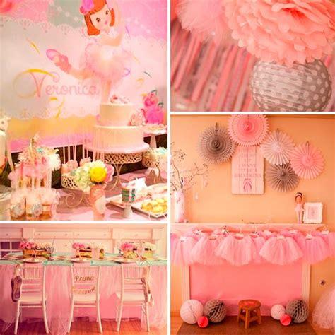 Cumpleaños de ballet para niña   Encantadora fiesta de ...