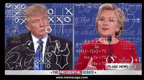 Debate Hillary Clinton y Donald Trump (Español) En Memes ...
