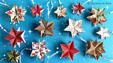 Decora tu Árbol de Navidad con Estrellas de Papel ...