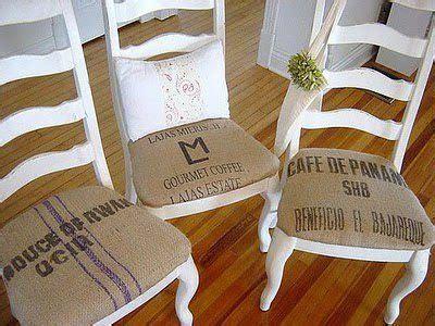Decora tus muebles con tela de saco