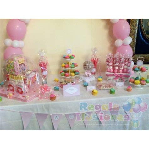 Decoración Bautizo Niña con globos y Mesas Candy   Regala ...