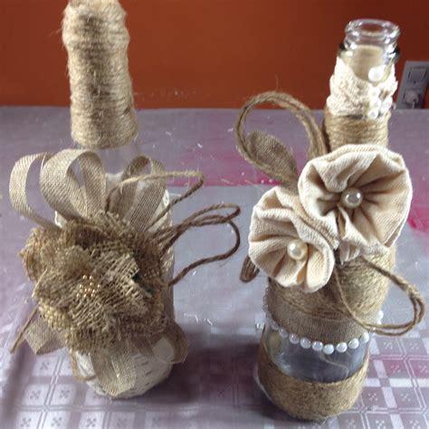 Decoración botellas estilo Vintage | Crear y decorar