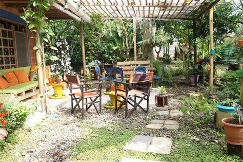 Decoración casa rural: Decorando el patio con material ...
