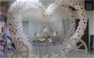 Decoracion con Globos para boda