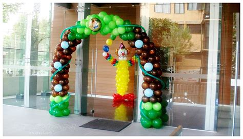 Decoración con Globos para Fiestas Infantiles | Alabio ...