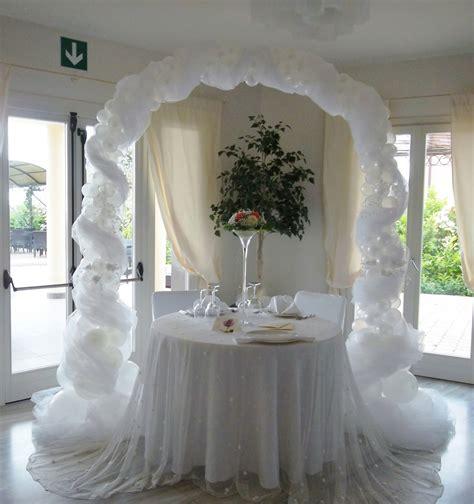 Decoración con globos para matrimonio   Imagui