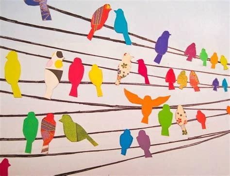Decoración con pájaros, manualidades para niños ...