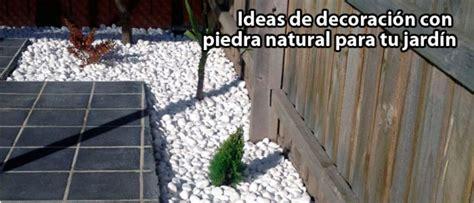 Decoración con piedras naturales en tu jardin   Viveros ...