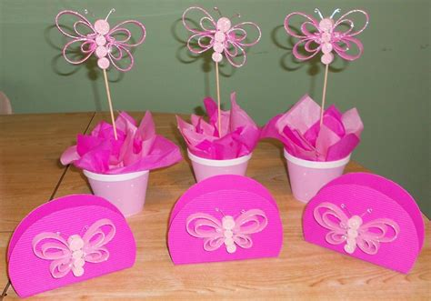 Decoración cumpleaños de niña mariposas   Imagui