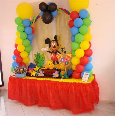 Decoración Cumpleaños Mickey Mouse 2   YouTube