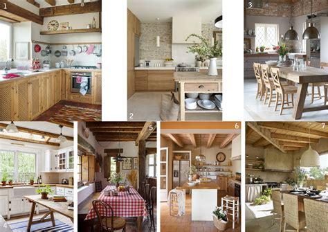 Decoración de casas de campo de estilo rústico en 6 pasos
