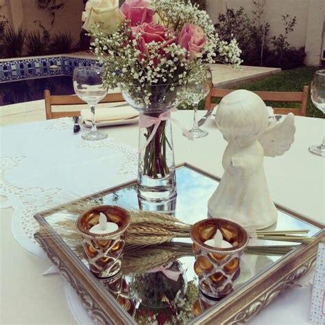 decoracion de centros de mesa primera comunion ...