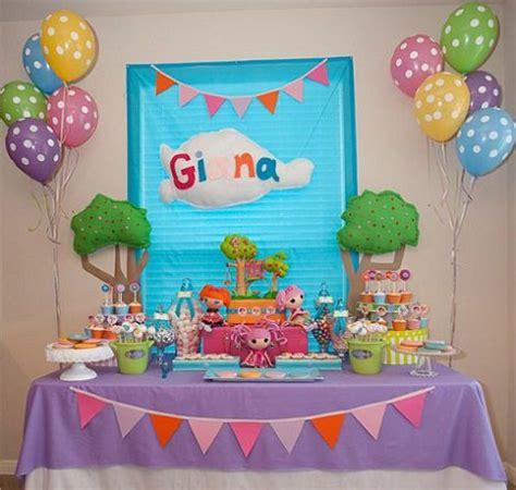 Decoración de cumpleaños de Lalaloopsy