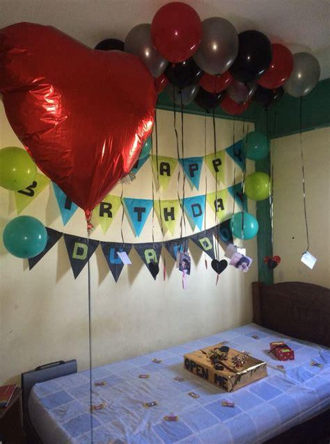 Decoracion de cumpleaños para novios … | bellas ...