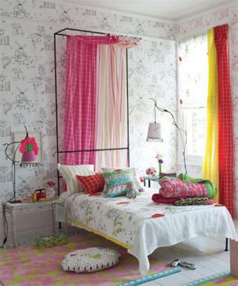 Decoración de dormitorios infantiles con cortinas