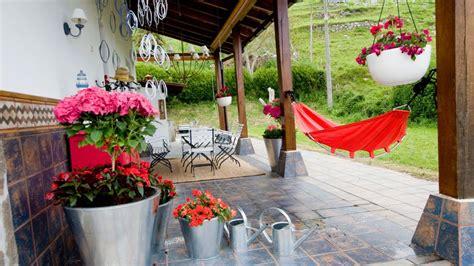 Decoración de exteriores para primavera verano   Porche