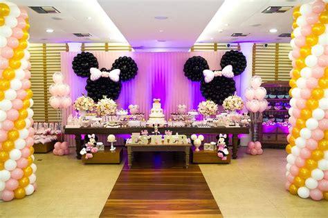 Decoracion de fiesta de cumpleaños de Minnie  17    Curso ...