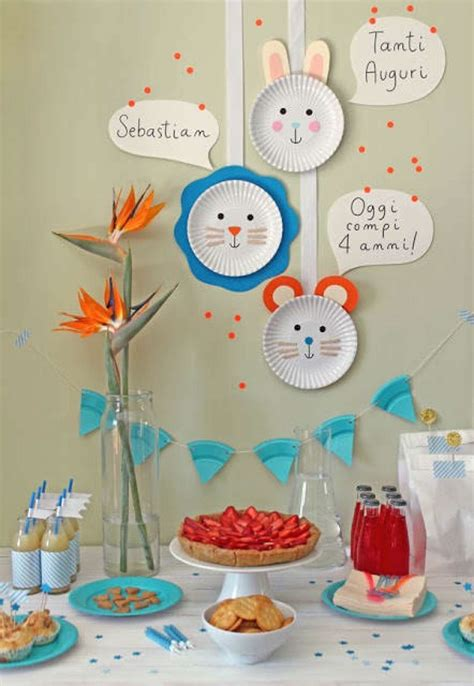 Decoración de fiestas infantiles con material reciclado