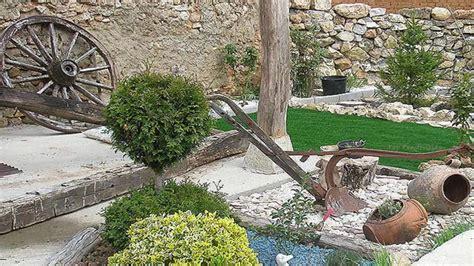 Decoracion de jardines rusticos   YouTube