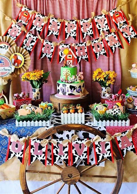 Decoración de la granja de Zenon para cumpleaños, fiestas ...