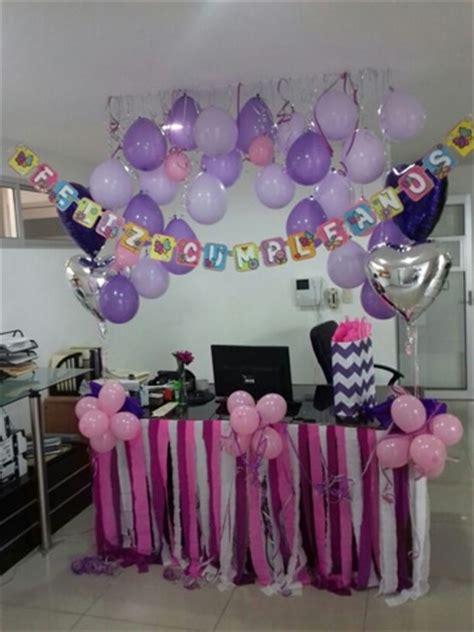 Decoracion de oficina para cumpleaños de adultos con ...