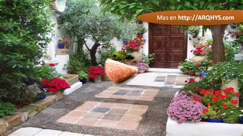 Decoracion de patios exteriores   YouTube