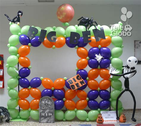 Decoracion En Globos Halloween