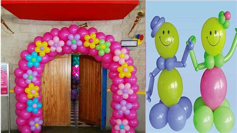 DECORACIÓN EN GLOBOS. IMAGENES   YouTube