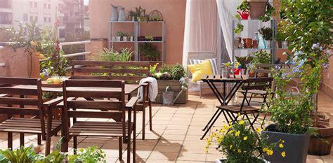 Decoración exterior: terraza o jardín ...