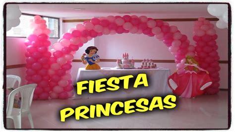 DECORACION FIESTAS PRINCESAS DE DISNEY | DECORACIONES PARA ...