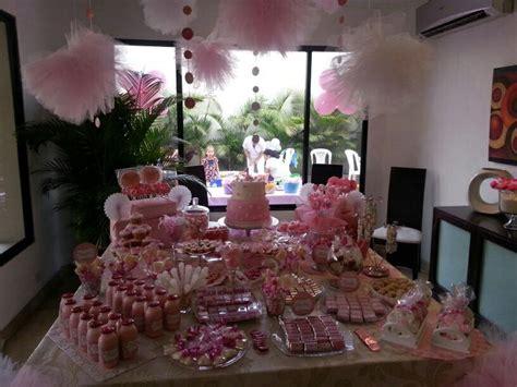Decoración mesa cumpleaños de niña | Cumpleaños de niña ...