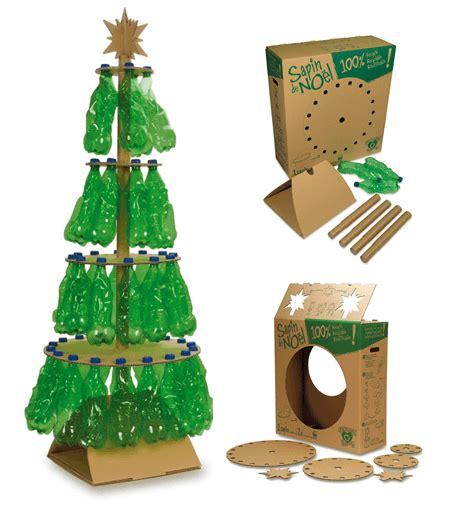 Decoración navideña con materiales reciclados | Adornos ...