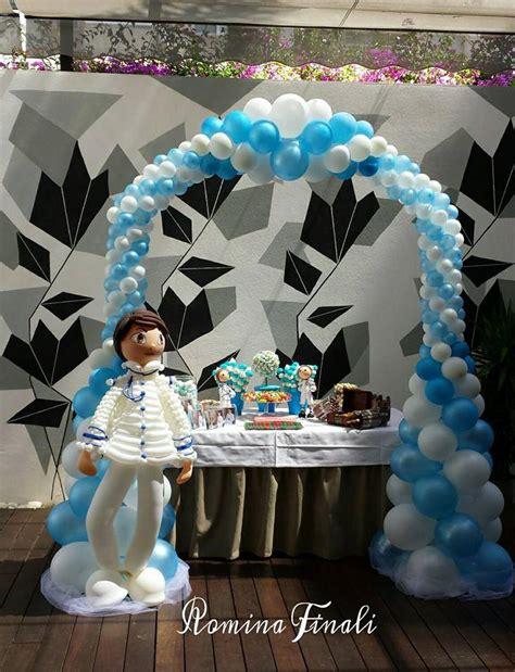 Decoración para comuniones de niño | Vittoria Balloons