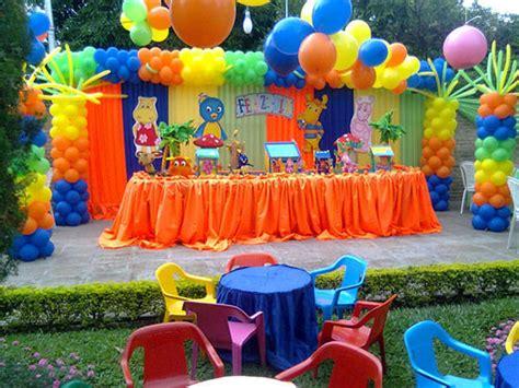 Decoración para cumpleaños infantil   Niño y Niña