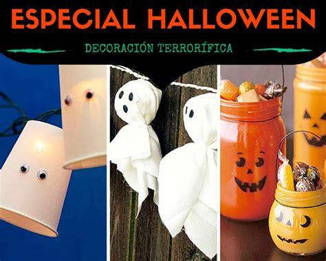 Decoración para Halloween Casera con manualidades   Trucos ...