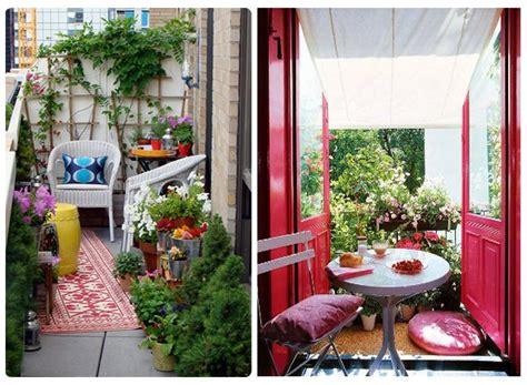 Decoración pequeñas terrazas y balcones