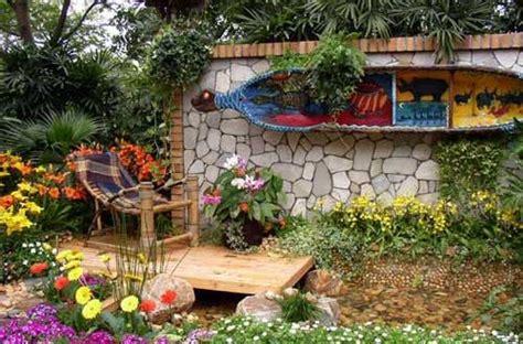 decoracion personalizada jardines rusticos | Hoy LowCost