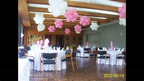 DECORACION PRIMERA COMUNION CON GLOBOS   YouTube
