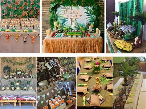 Decoración safari. Ideas para fiestas infantiles temáticas.