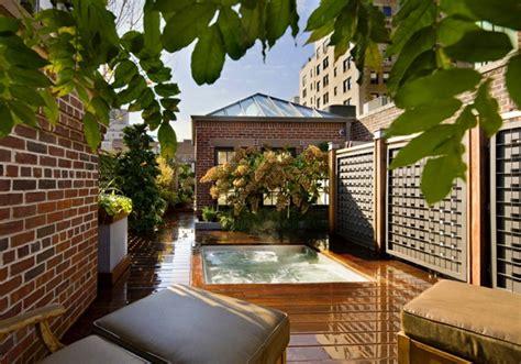 Decoracion terraza aticos   diseños modernos de gran altura