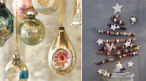 Decoración vintage para Navidad
