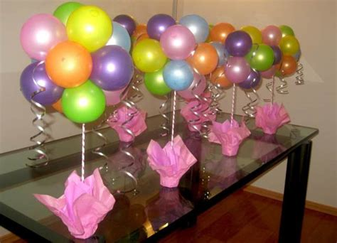 Decoraciónes con globo de helio   Imagui