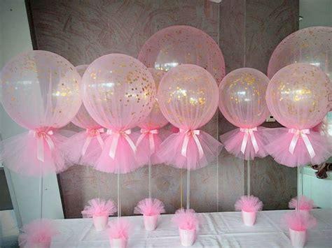 Decoraciones con globos y tul   Dale Detalles