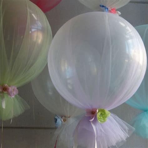 Decoraciones con globos y tul para tu fiesta tematica
