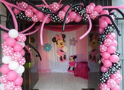 Decoraciones De Minnie Mouse Para Fiestas | Imagenes De ...