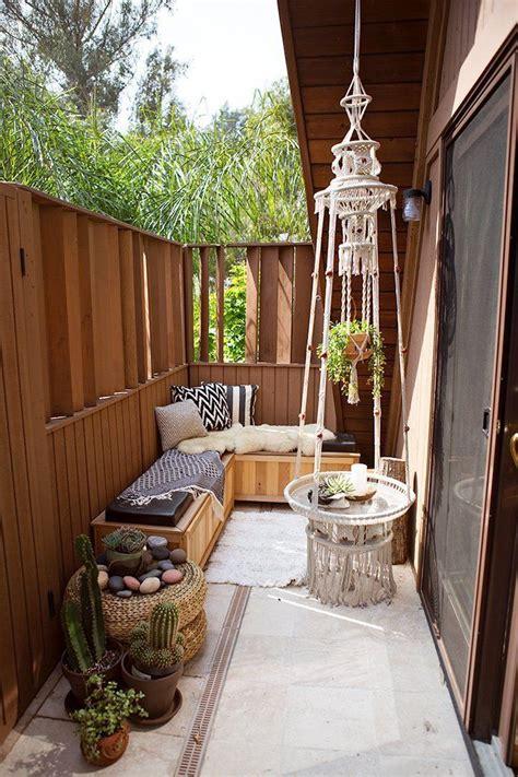 Decoraciones de terrazas pequeñas en verano. Inspírate ...