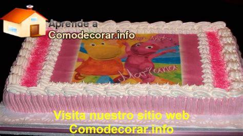 Decoraciones de tortas infantiles   YouTube