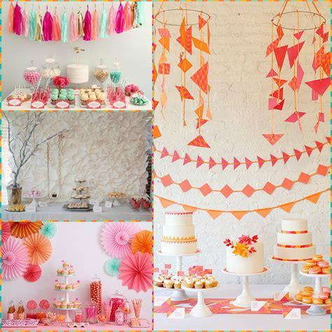 Decoraciones en Papel   Blog de La Fiesta de 15 ...