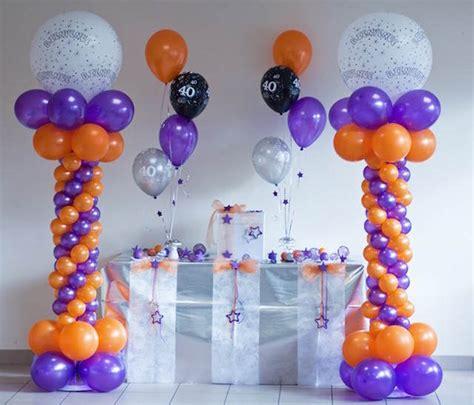 Decoraciones enteras con adornos de globos